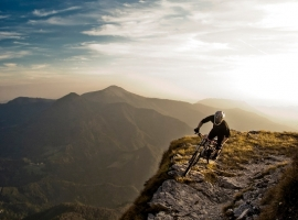 On the edge - Aleš Habjan / Soriska planina, Slovenia